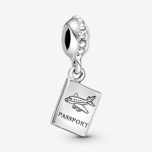 📿Pandora  Passport Travel Dangle Charm